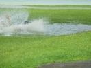 Action nach Gewitterregen