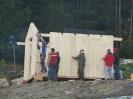 Errichtung Starthaus